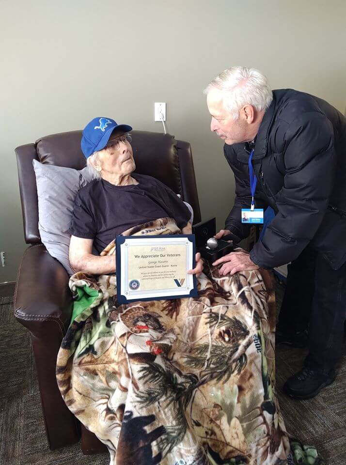 Trillium House Veteran Honored